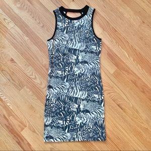 2/$20 Topshop Tiger Pattern Mini Dress